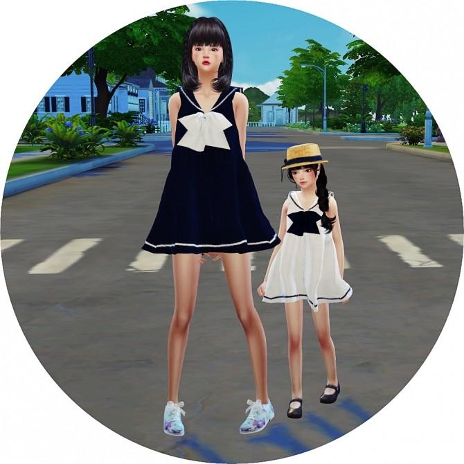 Sims 4 Child Sailor Dress at Marigold