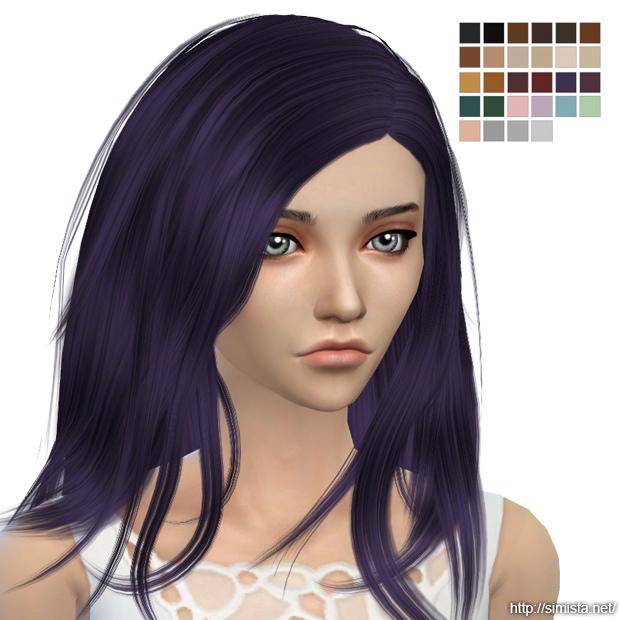 Sims 4 Runaway Hair Retexture at Simista