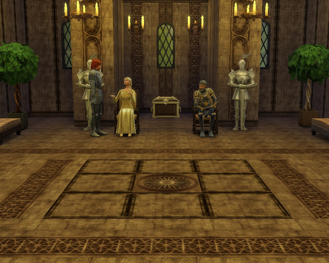 Camelot walls and floors at Mara45123 image 2782 Sims 4 Updates