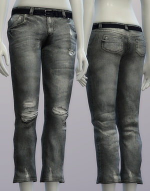 Sims 4 Vintage jeans #2 female at Rusty Nail
