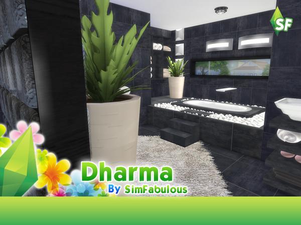 Sims 4 Dharma house by SimFabulous at TSR