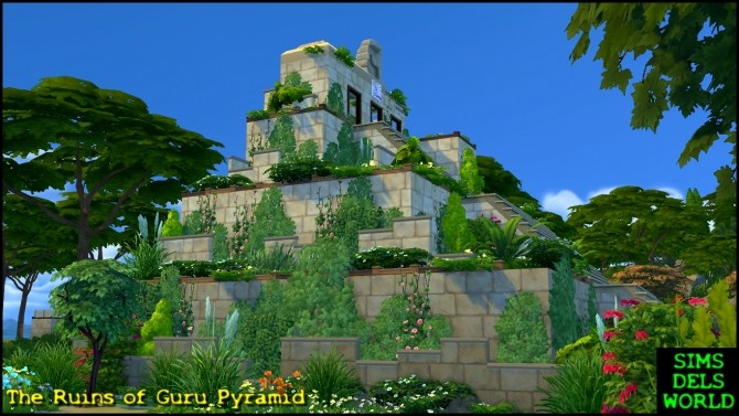 Sims 4 Lost World Guru Ruins at SimsDelsWorld
