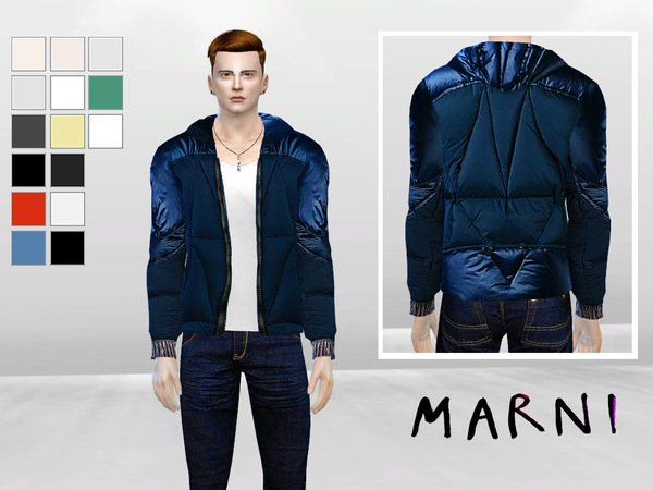 Pane Synthetic Jacket by McLayneSims at TSR image 3017 Sims 4 Updates