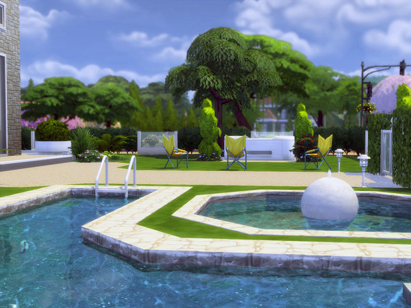 Sims 4 Stardust house by Guardgian at TSR