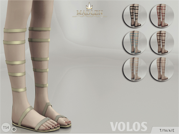 Madlen Volos Shoes by MJ95 at TSR image 3100 Sims 4 Updates