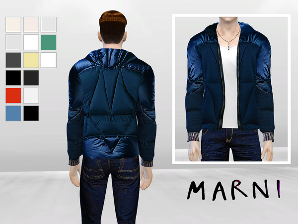 Pane Synthetic Jacket by McLayneSims at TSR image 3119 Sims 4 Updates