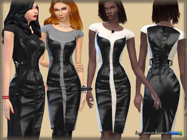 Sims 4 Corset Dress at Bukovka