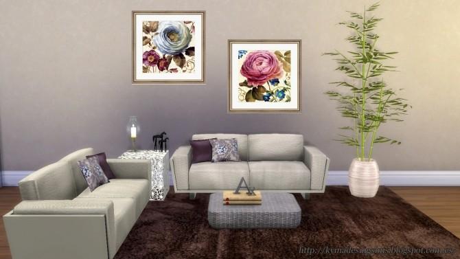 Sims 4 Rose Garden paintings at Kyma Desingsims S4