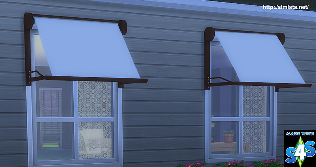 Modern Window Awning At Simista 187 Sims 4 Updates