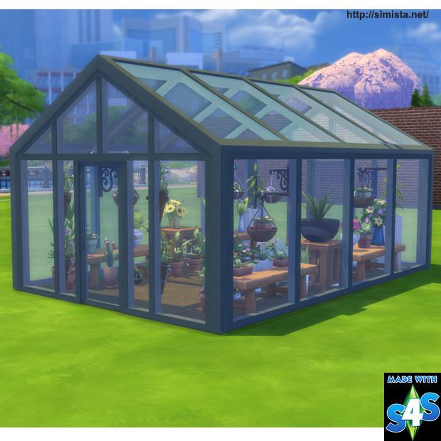 Always sunny glasshouse at simista sims 4 updates for Garden design sims 4