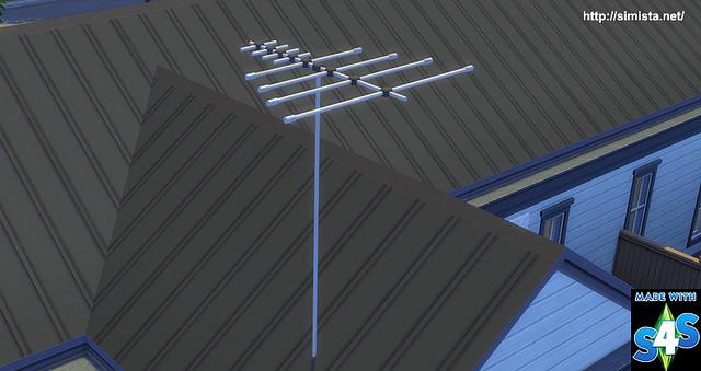 Sims 4 TV Antenna at Simista