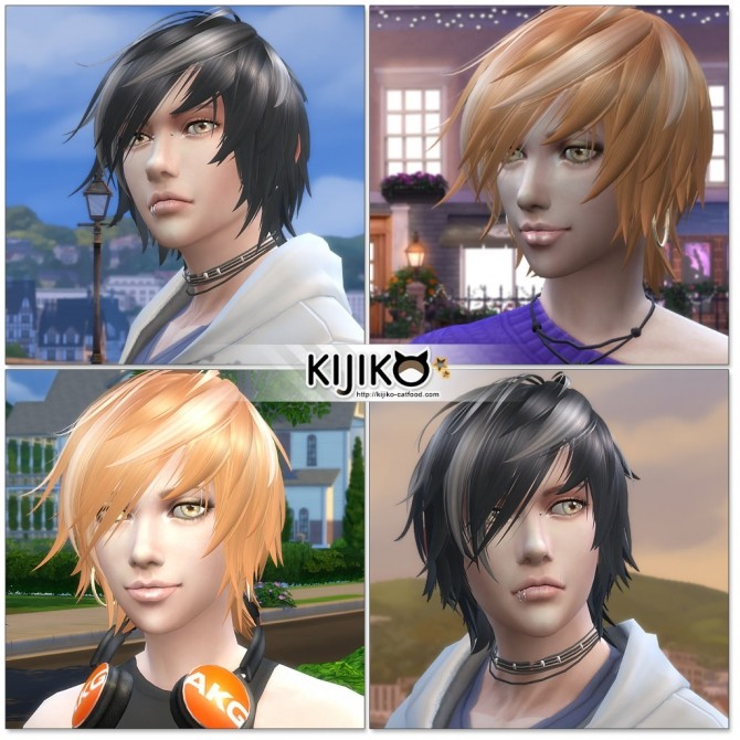 Sims 4 White Toyger Kitten TS4 edition (for Male) at Kijiko