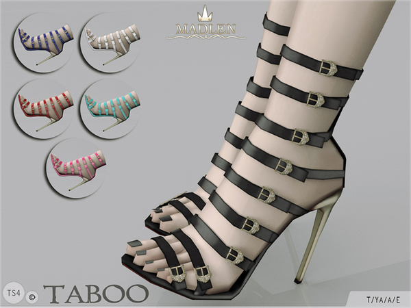Madlen Taboo Shoes by MJ95 at TSR image 3319 Sims 4 Updates