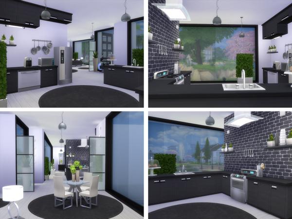 Sims 4 Monoville house by lenabubbles82 at TSR
