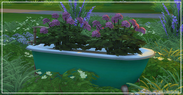 Sims 4 Bathtub Gardens at Simista
