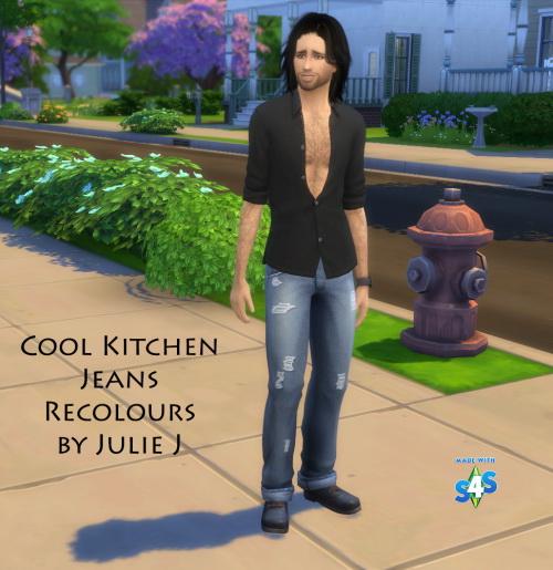 Cool Kitchen Stuff Sims: Male Cool Kitchen Jeans At Julietoon
