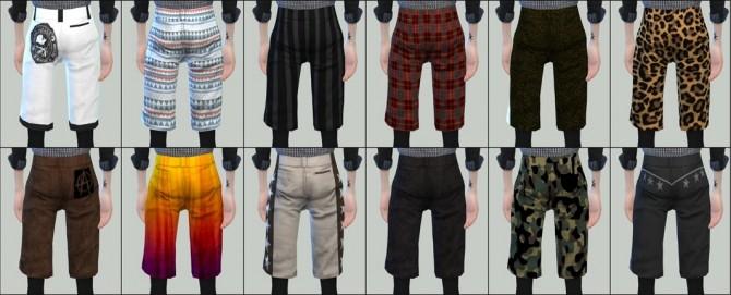 Sims 4 TS4 Half pants & Leggings at HANECO'S BOX