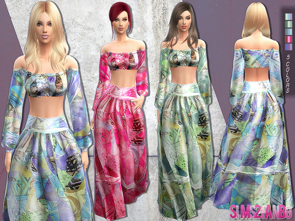 Bohemian outfit by sims2fanbg at TSR image 3518 Sims 4 Updates