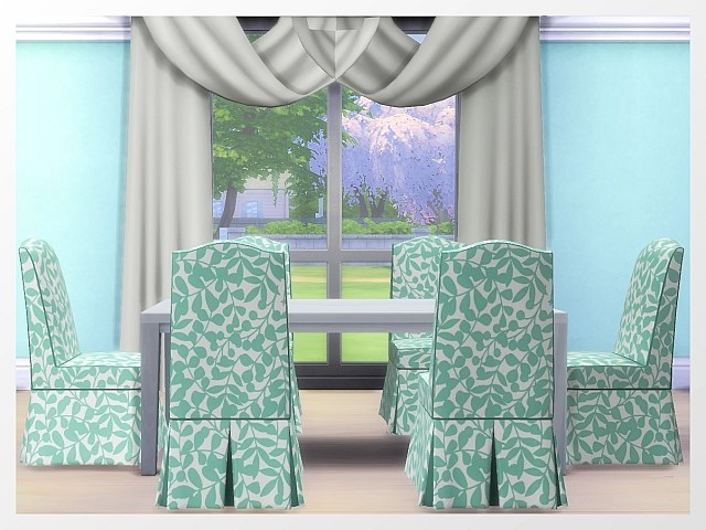 Adele Dining Chair by Oldbox at All 4 Sims » Sims 4 Updates