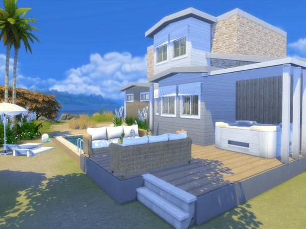 Shore Haven house by Suzz86 at TSR image 3530 Sims 4 Updates