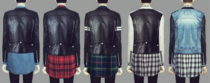 Sims 4 Leather Downloads 187 Sims 4 Updates