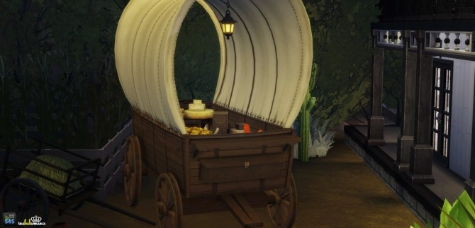 Sims 4 Western set conversion at In a bad Romance