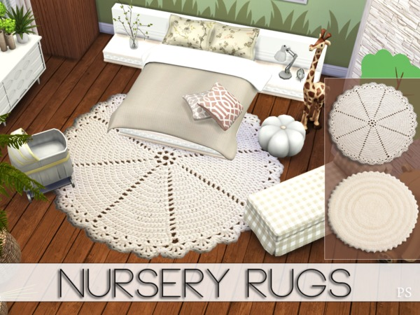 Nursery Rugs By Pralinesims At Tsr 187 Sims 4 Updates