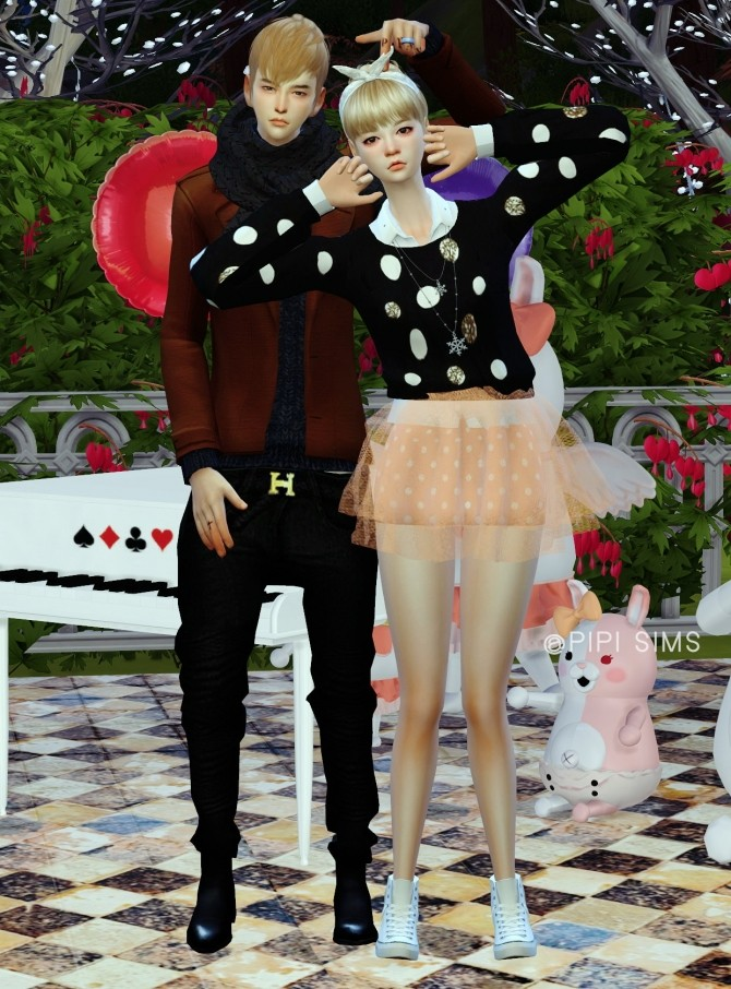 Couple Pose N3 At Pipi Sims 4 187 Sims 4 Updates
