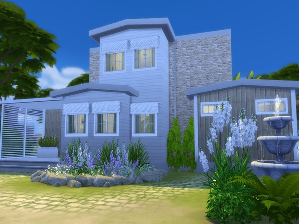 Shore Haven house by Suzz86 at TSR image 3634 Sims 4 Updates