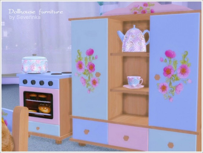 Dollhouse furniture set at Sims by Severinka image 3637 670x505 Sims 4 Updates