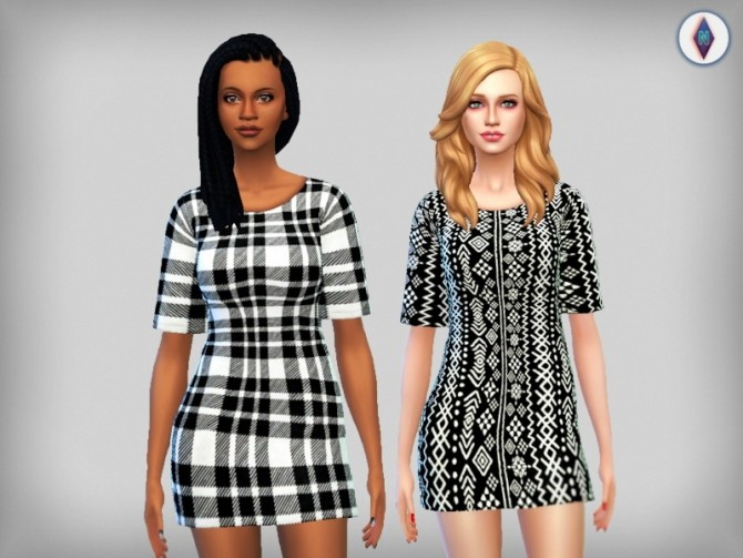 Sims 4 Everyday Loose Tees at NiteSkky Sims