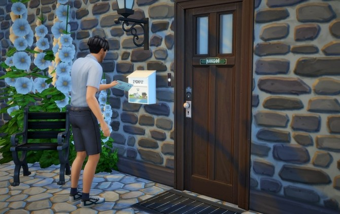 Sims 4 Mailbox recolors at Budgie2budgie