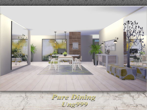 Sims 4 Pure Dining by ung999 at TSR