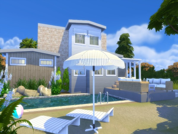 Shore Haven house by Suzz86 at TSR image 3728 Sims 4 Updates