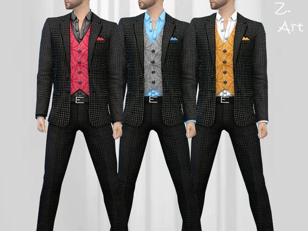 Z Suit Male Smart Fashion Sims