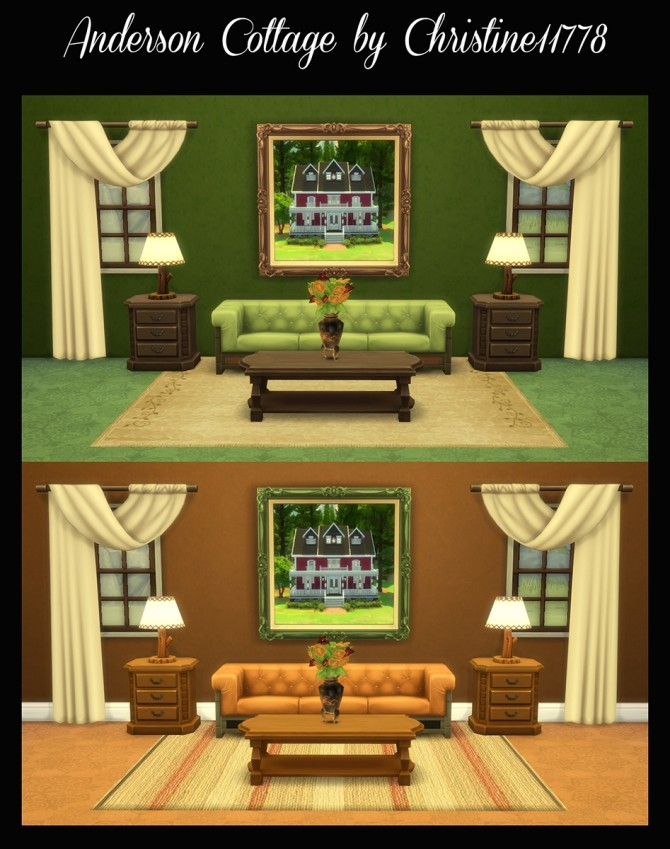 Sims 4 Residential Painting Project Christine11778 by Simmiller at Mod The Sims
