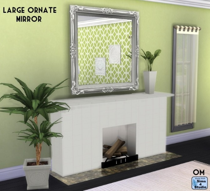 EAs large Blooming painting made mirror at Sims 4 Studio image 398 670x611 Sims 4 Updates