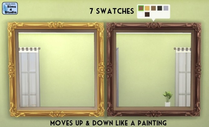 EAs large Blooming painting made mirror at Sims 4 Studio image 399 670x410 Sims 4 Updates
