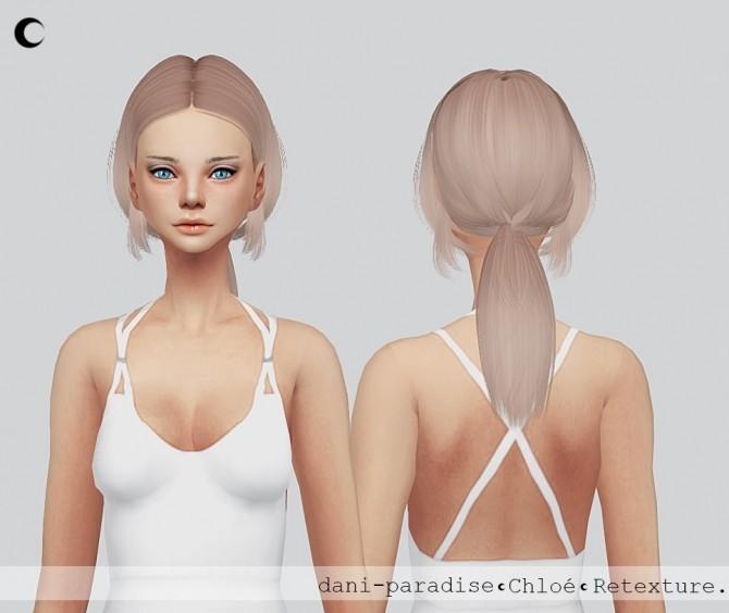 Sims 4 Chloé hair re texture at Kalewa a