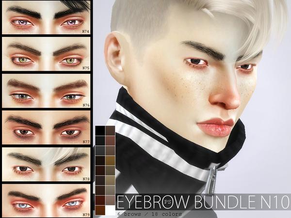 Eyebrow Bundle N10 by Pralinesims at TSR image 4012 Sims 4 Updates