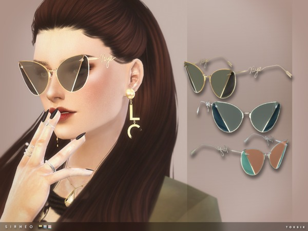 Sirheo Sunglasses by toksik at TSR image 4018 Sims 4 Updates