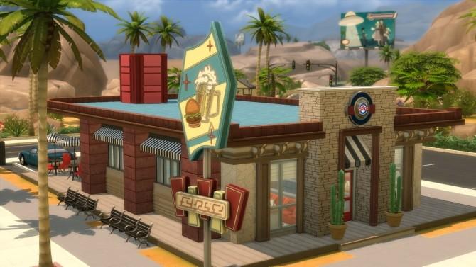 Sims 4 The Five Oh Diner at Jool's Simming