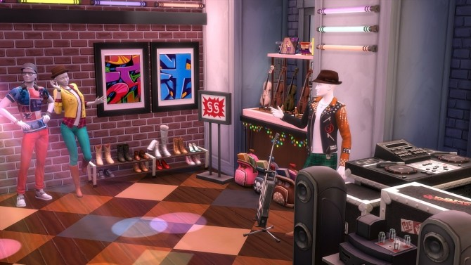 Alice In Musicland at Jool's Simming image 4321 670x377 Sims 4 Updates