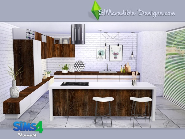 Nuance kitchen by SIMcredible! at TSR image 4425 Sims 4 Updates