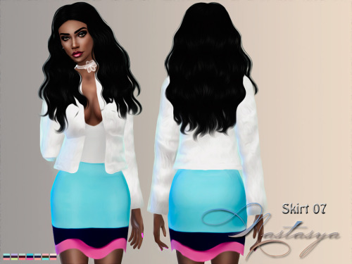 Skirt 07 at Nastasya94 image 450 Sims 4 Updates