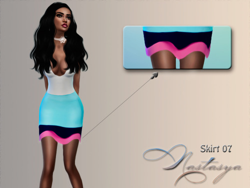 Skirt 07 at Nastasya94 image 4511 Sims 4 Updates