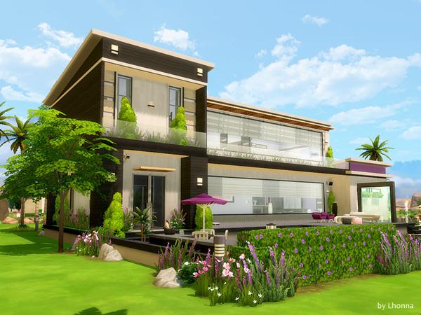 Sims 4 Horizon View house by Lhonna at TSR