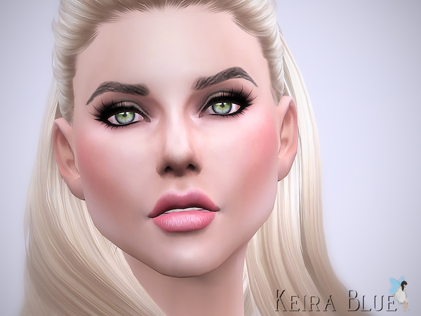 Sims 4 Keira Blue by Ms Blue at TSR