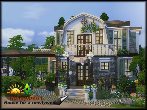 Honeymoon house by Solny at TSR image 4917 Sims 4 Updates