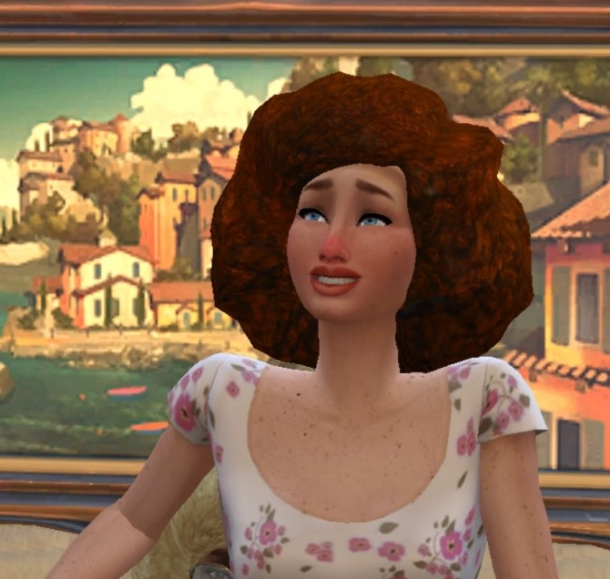 Sims 4 Natural Curly Afro Hair by cattishcats at Mod The Sims